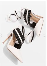 TOPSHOP Grill frill Heel Shoes UK 6 EUR 39 NEW!