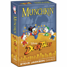 MUNCHKIN® DuckTales  Age 10+  3-6 PLAYERS  60+ MINUTES