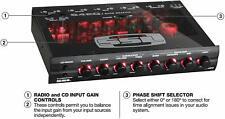 Audio Medio Din 4 Banda Auto Ecualizador
