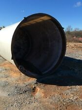 New listing Used 4,500 Gallons Vertical Fiber Glass Tank, Cone Bottom