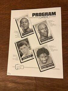 Boxing Program Card, Mayweather Jr/Corley & Salita/Thompson 5/22/04, #22/100(NM)
