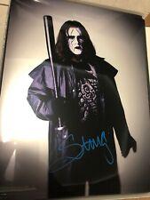 STING WCW WWE SIGNED AUTOGRAPH 11X14 PHOTO