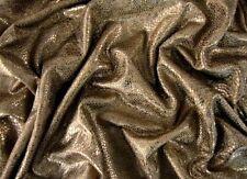 FOLIENJERSEY REPTIL Hologram Stoff glitzernd elastisch BRONZE