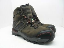 "Irish Setter Work Men's 6"" Crosby 83602 Safety Toe Work Boot Brown Size 11M"