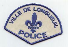 Ville de Longueuil Police, Quebec, Canada HTF Vintage Uniform/Shoulder Patch