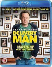 DELIVERY MAN, SEALED 104 MINUTE BLUE-RAY DISC FROM 2014