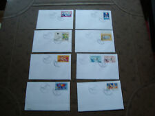 FRANCE - 8 enveloppes 2001 (cy49) french