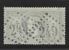 n°33 Napoléon 5fr Gris oblitéré GC 249 beau d'aspect timbre classique