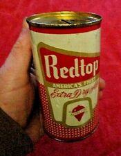 Vintage Redtop Beer 12 Oz. Steel Can Bank Very Nice