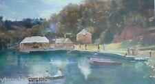 Tom Roberts, Mosman's  Bay,1894. New England Regional Art Museum, Armidale.