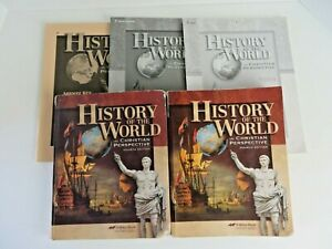 History of the World in Christian Perspective A Beka Tcher Bundle 5 Books #1943