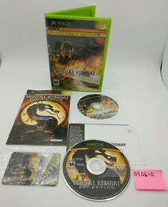 Mortal Kombat: Deception Scorpion Kollector's Edition for Xbox with Card & Discs