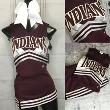 New listing Real Cheerleading Uniform Indians Youth Med