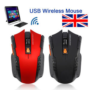 HK Xmas Wireless Pro Gaming Mouse LED Silent Optical Gaming Computer Mouse Gifts