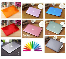 "Lid+Base Hard Covers Glossy Crystal Skin For Macbook AIR 11"" 13.3'' PRO 13"" 15"""