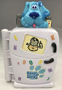 Blues Clues Fun with Food Refrigerator Electronic Talking Game 1999 TYCO