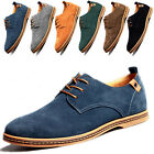 Multi Size 6-13 Mens Suede Leather Shoes European Style Comfort Casual shoes