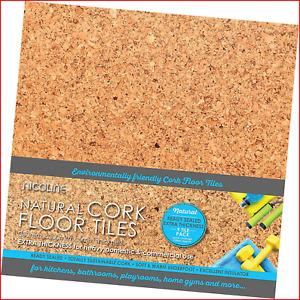 5mm Sealed Cork Floor Tiles 0.80m2