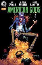 SDCC 2017 Dark Horse Exclusive American Gods: Shadows #1 (Skottie Young)