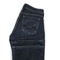 Citizens Of Humanity Womens 25 Dark Blue Flare Stretch Jeans