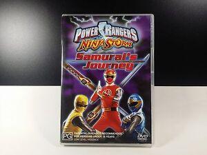 POWER RANGERS DVD  NINJA STORM : SAMURAI'S JOURNEY Region 4 Australia