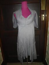 Amazing All Saints Phinius Dress Grey Size 8 Excellent Condition