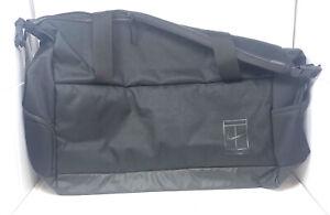Nike Court Advantage Tennis Bag Large Duffel New With Tags BA5451 010 Black