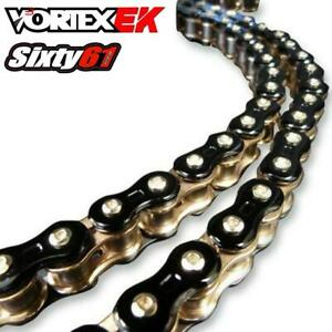Black Gold EK Motorcycle Chain 530 Z3D-120KG 120 Links Tensile Strength 11400 lb