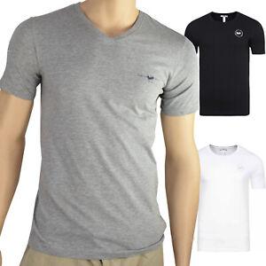 2er Pack T-Shirt Harvey Miller Polo Club Herren Basics Oberteil schlicht Sommer
