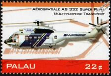 AEROSPATIALE/Eurocopter AS332 Super Puma Hélicoptère de transport avion TIMBRE