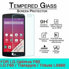 Premium Tempered Glass Screen Protector for LG Tribute Transpyre LS660 F60