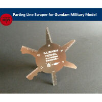 Parting Line Scraper Hand Tool General Use for Gundam Assembly Model Hobby Kits