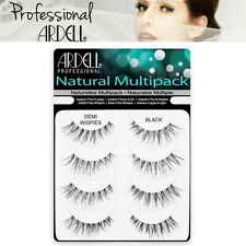 Ardell Professional False Eyelashes 4 Pairs Black Demi Wispies Multipack Pack