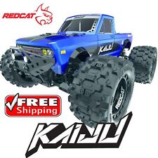 Redcat Racing Kaiju 1/8 Scale Brushless Electric Monster Truck Blue NEW