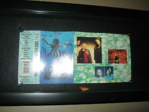 Nirvana Kurt Cobain Signed 3x Cassette Tape Nevermind Cover Dave Grohl Krist
