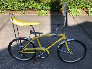 1970's Schwinn Koop Yellow 5 Speed Fastback bicycle