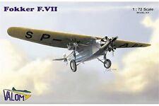 VALOM 72037 1/72 Fokker F.VIIb / 3m