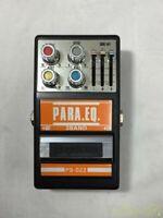 Guyatone PS-022 PARA.EQ. 3-Band Equalizer Vintage Guitar Effects Pedal iz259