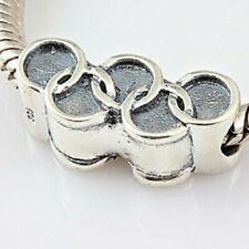 Gymnast Olympic sterling silver charm .925 x 1 floor gymnastics EC9979
