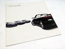 2004 Saab 9-3 9-5 Full Line Brochure