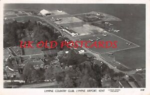 Kent - LYMPNE, Country Club & Airport, near Hythe,  Real Photo 1952