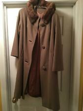 Due to minor imperfections, this gorgeous 50's swing coat is a steal!