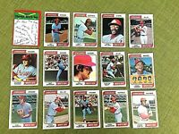 1974 TOPPS BASEBALL CHICAGO WHITE SOX  COMPLETE TEAM SET 31 RON SANTO, GOSSAGE