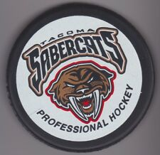 Tacoma Sabrecats Professional Hockey Puck Washington State Vintage