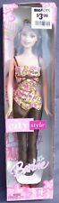 Barbie CITY STYLE pantalon haut beige fleuri 2004 Mattel G8568 poupee DOLL NRFB