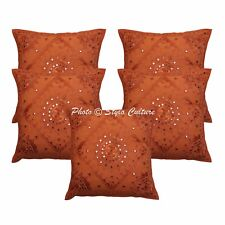 Vintage Decorative Pillowcase Embroidered Abstract Decorative Pillow Cover 16""