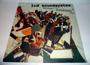 """LCD SOUNDSYSTEM - TRIBULATIONS 12"""" VINYL 2005"""