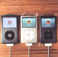 iPod classic 7th Gen : 256GB SDXC SSD : Built to order : Read description