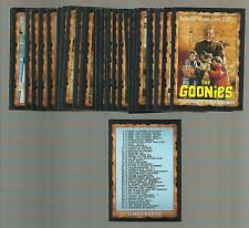 THE GOONIES 1985 TOPPS - Steven Spielberg -- Lot of 50 - NRMT FREE SHIPPING