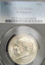 1936 Bridgeport Comm. Half Dollar PCGS MS66 (D0444)